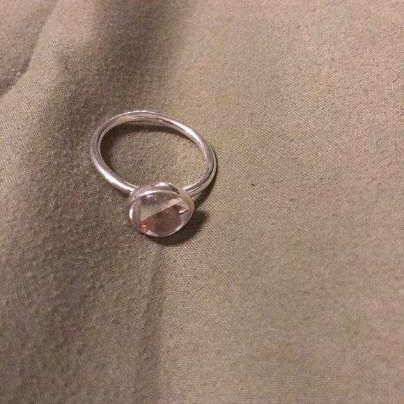 Pandora Jewelry - Pandora clear poetic drop ring